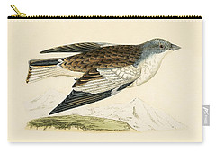 Snow Finch Carry-all Pouch by English School