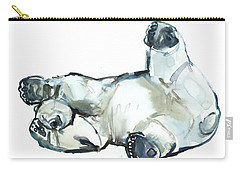 Snow Rub Carry-all Pouch by Mark Adlington