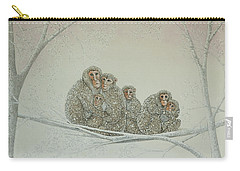 Snowed Under Carry-all Pouch by Pat Scott