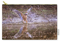 Soft Landing On The Pond Carry-all Pouch by Carol Groenen