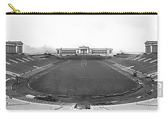 Soldier Field In Chicago Carry-all Pouch by Underwood Archives