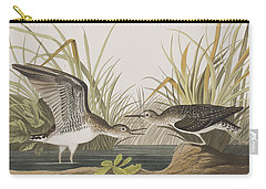 Solitary Sandpiper Carry-all Pouch by John James Audubon