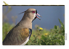 Southern Lapwing Carry-all Pouch by Pablo Rodriguez merkel