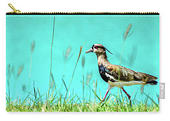 Southern Lapwing Carry-all Pouch by Randy Scherkenbach