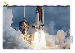 Space Shuttle Launching Carry-all Pouch by Stocktrek Images