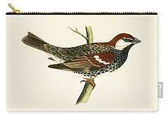 Spanish Sparrow Carry-all Pouch by English School