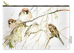 Sparrows Carry-all Pouch by Suren Nersisyan