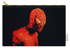 Spiderman Carry-all Pouch by Paul Meijering
