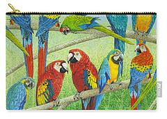 Spreading The News Carry-all Pouch by Pat Scott