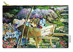 Spring At Last Carry-all Pouch by Hanne Lore Koehler