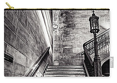 Stairs Of The Past Carry-all Pouch by CJ Schmit