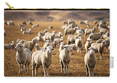 Standing Out In The Herd Carry-all Pouch by Todd Klassy