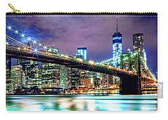 Star Spangled Skyline Carry-all Pouch by Az Jackson