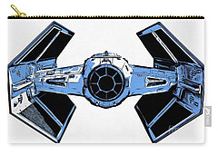 Star Wars Tie Fighter Advanced X1 Carry-all Pouch by Edward Fielding