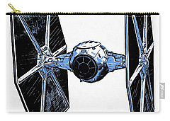 Star Wars Tie Fighter Carry-all Pouch by Edward Fielding