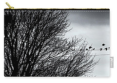Starlings Roost Carry-all Pouch by Philip Openshaw