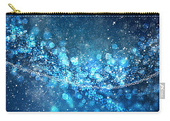 Stars And Bokeh Carry-all Pouch by Setsiri Silapasuwanchai