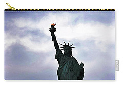 Statue Of Liberty May 2016 Carry-all Pouch by Sandy Taylor