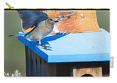 Stay Away Carry-all Pouch by Mike Dawson