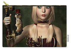 Steampunk Surprise Carry-all Pouch by Britta Glodde
