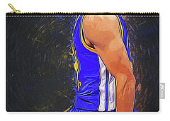 Steph Curry Carry-all Pouch by Semih Yurdabak