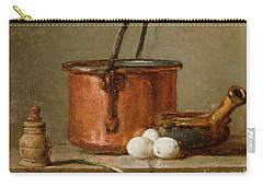Still Life Carry-all Pouch by Jean-Baptiste Simeon Chardin