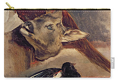 Still Life Of Game Carry-all Pouch by Theodore Gericault
