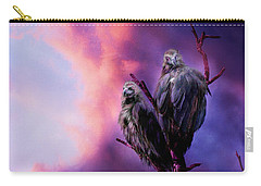 Strange Togetherness Carry-all Pouch by Carol Cavalaris