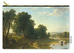 Strawberrying Carry-all Pouch by Asher Brown Durand
