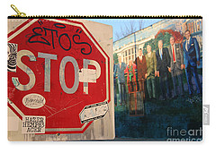 Street Art Washington D.c.  Carry-all Pouch by Clay Cofer