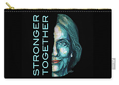 Stronger Together Carry-all Pouch by Konni Jensen