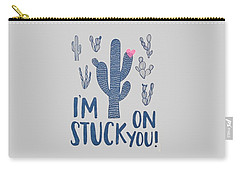 Stuck On You Carry-all Pouch by Elizabeth Taylor
