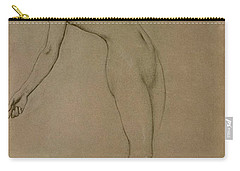Study For Clyties Of The Mist Carry-all Pouch by Herbert James Draper