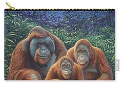 Sumatra Orangutans Carry-all Pouch by Hans Droog