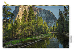 Sunrise On El Capitan Carry-all Pouch by Peter Tellone