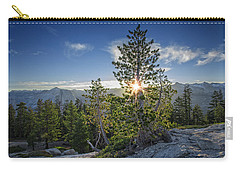Sunrise On Sentinel Dome Carry-all Pouch by Rick Berk