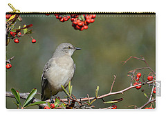 Surrounded By Berries 2 Carry-all Pouch by Fraida Gutovich