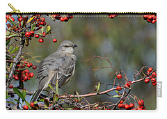 Surrounded By Berries Carry-all Pouch by Fraida Gutovich