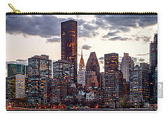 Surrounded By The City Carry-all Pouch by Az Jackson