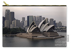 Sydney Australia Skyline Carry-all Pouch by Bob Christopher