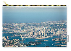 Sydney From The Air Carry-all Pouch by Parker Cunningham