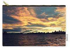 Sydney Harbour At Sunset Carry-all Pouch by Leanne Seymour