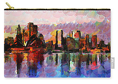 Sydney Here I Come Carry-all Pouch by Sir Josef - Social Critic - ART
