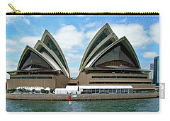 Sydney Opera House No. 1 Carry-all Pouch by Sandy Taylor