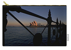 Carry-all Pouch featuring the photograph Sydney Opera House by Travel Pics