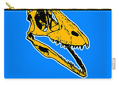T-rex Graphic Carry-all Pouch by Pixel  Chimp