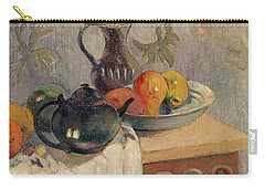 Teiera Brocca E Frutta Carry-all Pouch by Paul Gauguin