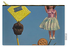 Tenuous Still-life 2 Carry-all Pouch by James W Johnson