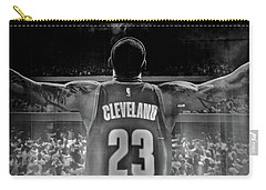 Thanks Lebron Carry-all Pouch by Frozen in Time Fine Art Photography