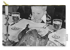 Thanksgiving Dinner Carry-all Pouch by American School